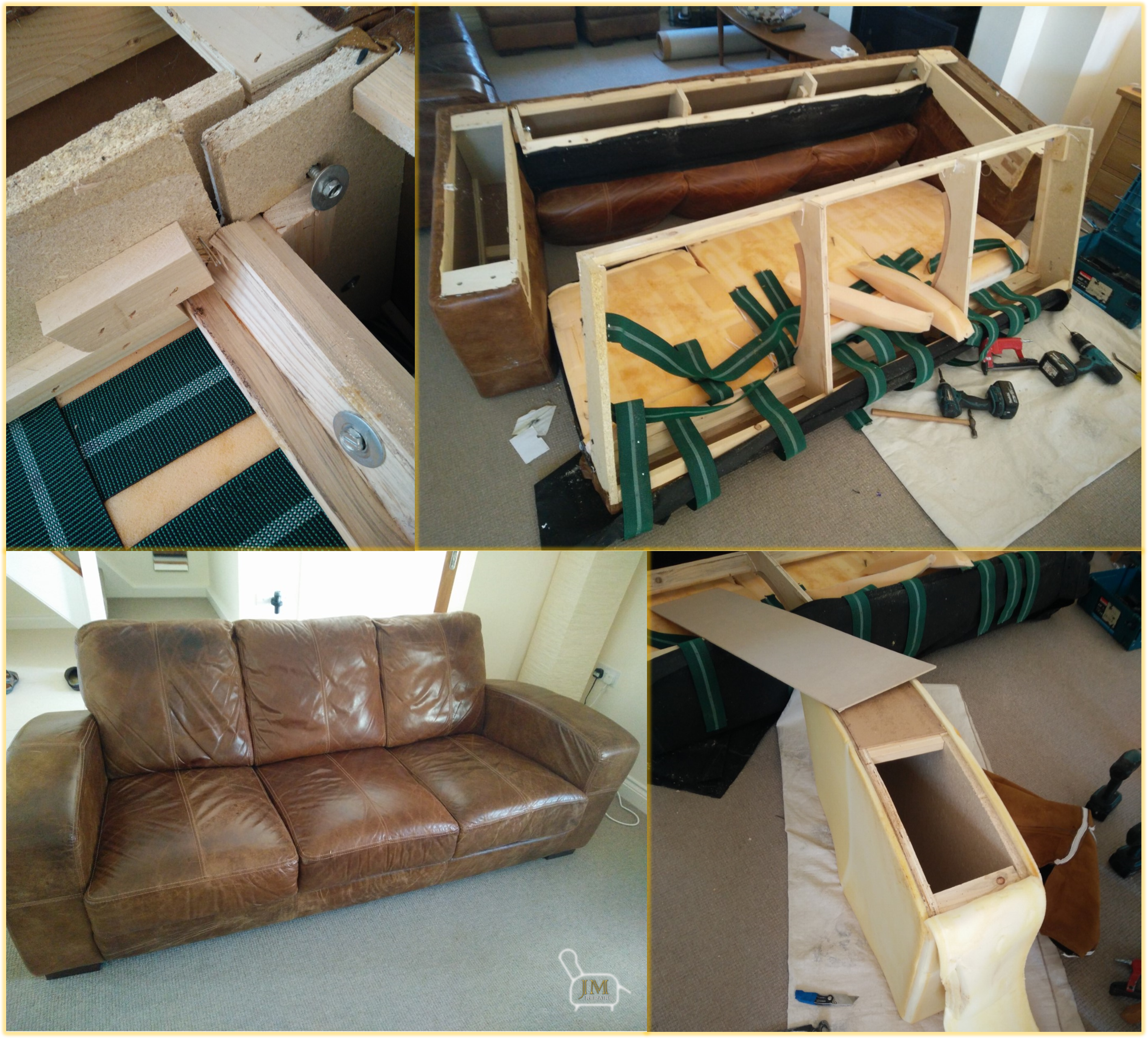 Leather Sofas Gloucestershire: Leather / Recliner / Sofa Repairs
